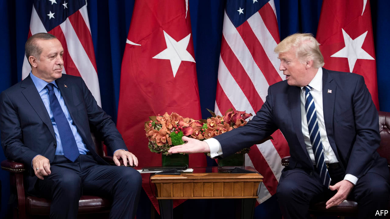 Turkey and America suspend visa services for each other's citizens.