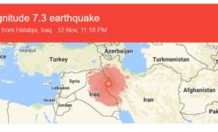 Iran and Iraq jolted by high intensity earthquake
