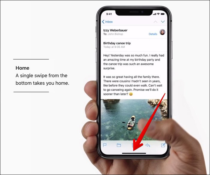 How to use the virtual home button in your iPhone X instead of making gestures?