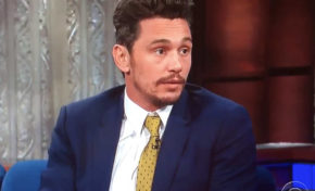 James Franco Denies Sexual Misconduct Accusations in an Interview with Colbert.