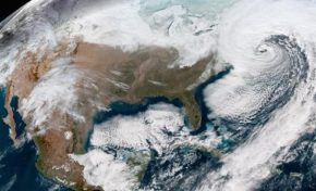 Bomb Cyclone Slams US East Coast.