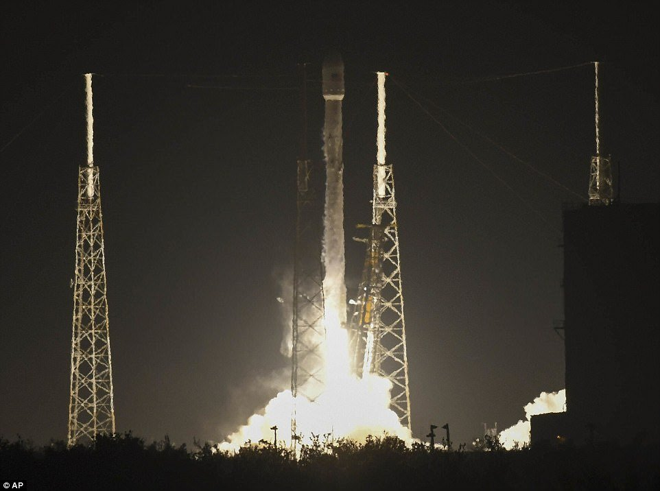 Zuma spacecraft launched by SpaceX is lost after it was unable to reach orbit.
