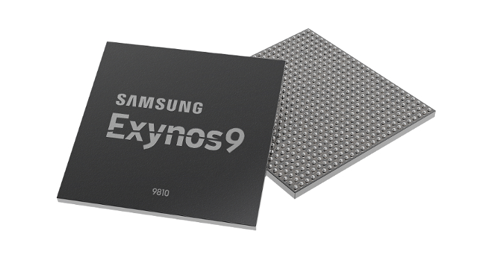 Samsung unveils it's new Exynos chip.