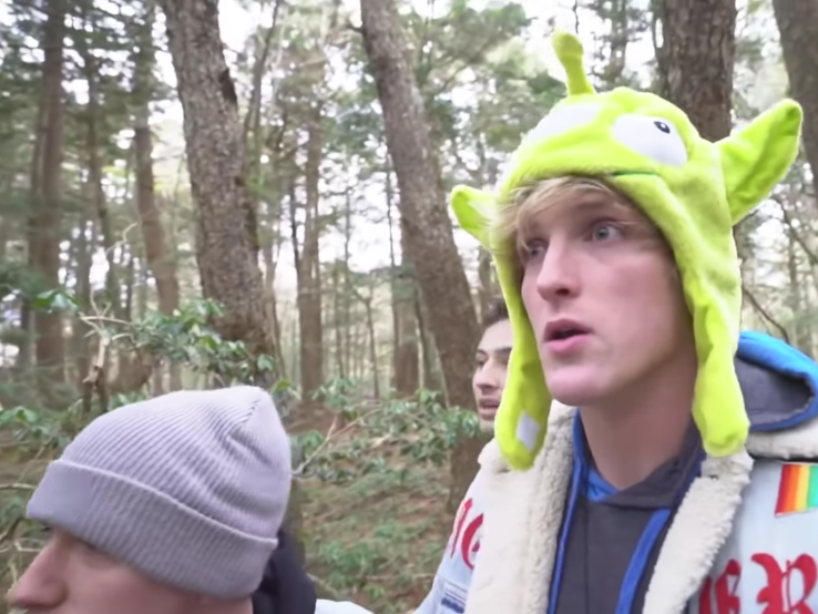 YouTube star Logan Paul apologizes after posting a video of a dead body in Japan.